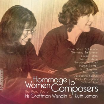 Cover Hommage to Women Composers