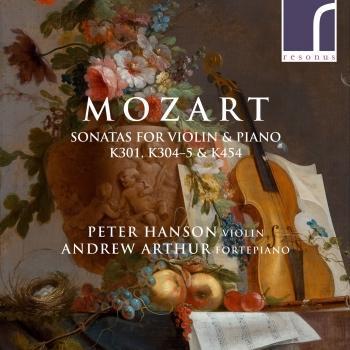 Cover Mozart: Sonatas for Violin & Piano, K. 301, K. 304, K. 305 & K. 454