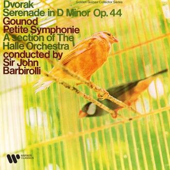 Cover Dvořák: Serenade, Op. 44 - Gounod: Petite Symphonie (Remastered)