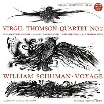 Cover Virgil Thomson: Quartet No. 2 - William Schuman: Voyage (Remastered)