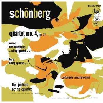 Cover Schoenberg: String Quartet No. 4 - Webern: 5 Movements for String Quartet - Berg: String Quartet, Op. 3 (Remastered)