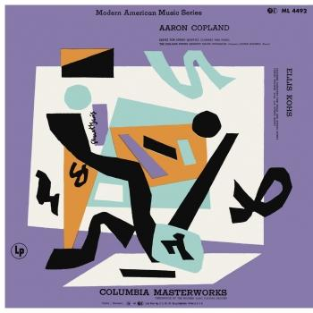 Cover Copland: Sextet for String Quartet, Clarinet and Piano - Kohs: Chamber Concerto (Remastered)