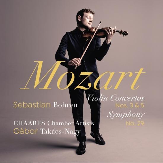 Cover Mozart: Violin Concertos Nos. 3 & 5, Symphony No. 29