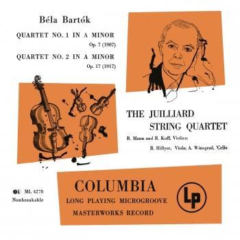 Cover Bartók: Quartet No. 1 in A Minor & Quartet No. 2 in A Minor (Remastered)
