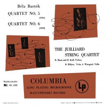 Cover Bartók: Quartet No. 5 & Quartet No. 6 (Remastered)