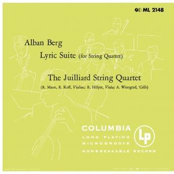 Cover Berg: Lyric Suite - Ravel: String Quartet in F Major (Remastered)
