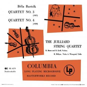 Cover Bartók: Quartet No. 3 & Quartet No. 4 (Remastered)