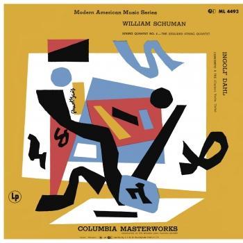 Cover Schumann: String Quartet No. 4 - Dahl: Concerto for Clarinet, Violin & Cello 'Concerto a Tre' (Remastered)