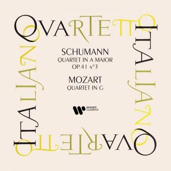 Cover Schumann: String Quartet, Op. 41 No. 3 - Mozart: String Quartet No. 3, K. 156