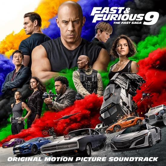 Cover Fast & Furious 9: The Fast Saga (Original Motion Picture Soundtrack)