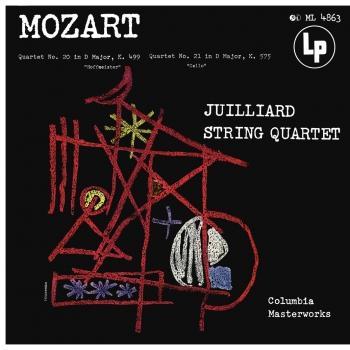 Cover Mozart: String Quartets Nos. 20 & 21 (Remastered)