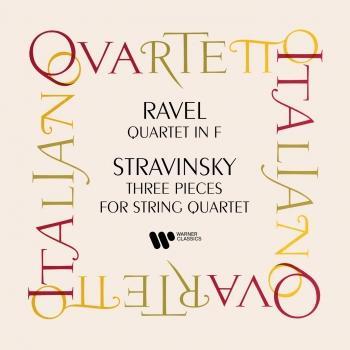Cover Ravel: String Quartet - Stravisnky: Three Pieces for String Quartet