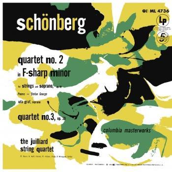 Cover Schoenberg: String Quartets Nos. 2 & 3 (Remastered)