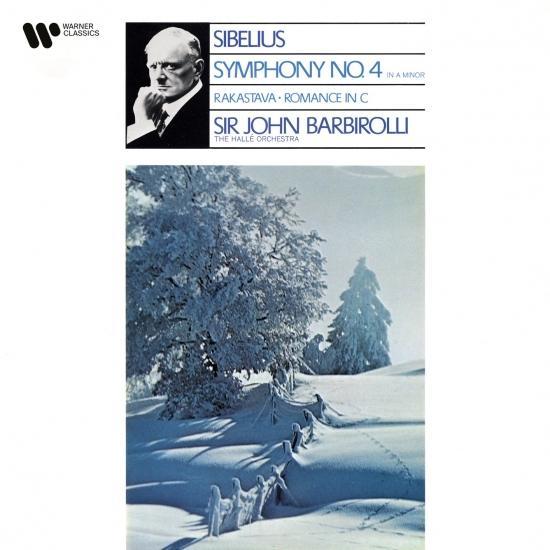 Cover Sibelius: Symphony No. 4, Rakastava & Romance in C Major