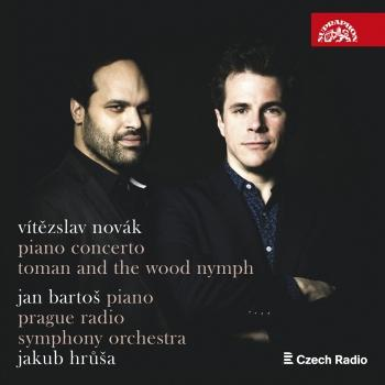 Cover Vítězslav Novák: Piano Concerto, Toman and the Wood Nymph