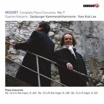 Cover Mozart: Complete Piano Concertos, Vol. 7 (Live - K. 449, 450 & 451) (Live - Cadenza K. 624/626a, No. 18)