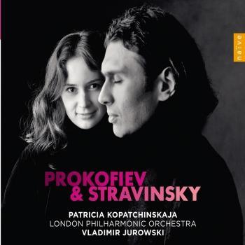 Cover Stravinsky: Violin Concerto / Prokofiev: Violin Concerto No. 2