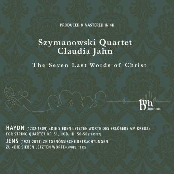 Cover Die sieben Worte des Erlosers am Kreuze, Op. 51, Introduzione, Hob. III:50