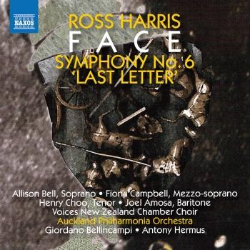 Cover Ross Harris: Symphony No. 6 'Last Letter' & Face (Live)