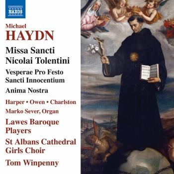 Cover M. Haydn: Sacred Works