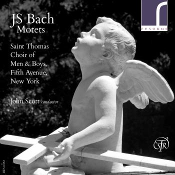 Cover J.S. Bach Motets