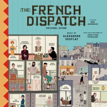 Cover The French Dispatch (Original Score)
