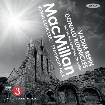 Cover James Macmillan: Violin Concerto & Symphony No. 4