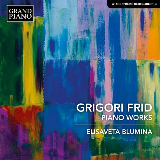 Cover Frid: Piano Works