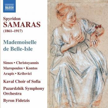 Cover Samaras: Mademoiselle de Belle-Isle