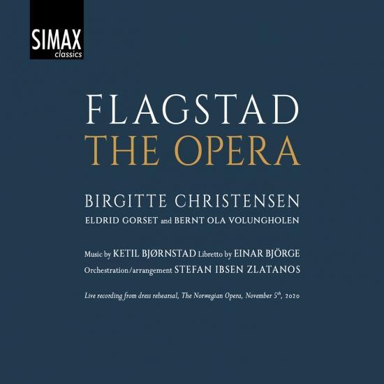Cover Ketil Bjørnstad: Flagstad - The Opera