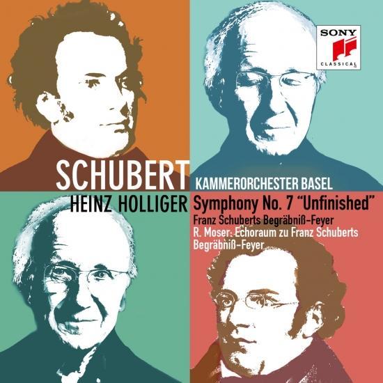 Cover Schubert: Symphony No. 7 'Unfinished' & Franz Schuberts Begräbniß-Feyer, Roland Moser: Echoraum