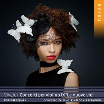 Cover Vivaldi: Concerti per violino IX 'Le nuove vie'