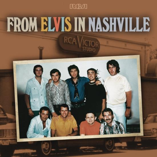 Cover From Elvis In Nashville (Remastered)