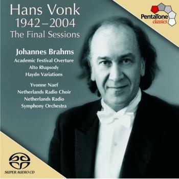 Cover Brahms: Academic Festival Overture / Alto Rhapsody / Variations On A Theme by J. Haydn