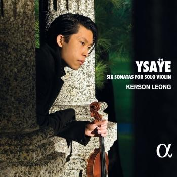 Cover Ysaÿe: Six Sonatas for Solo Violin