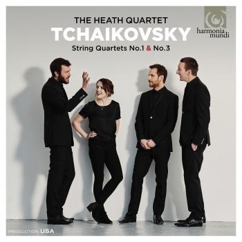 Cover Tchaikovsky: String Quartets Nos. 1 & 3