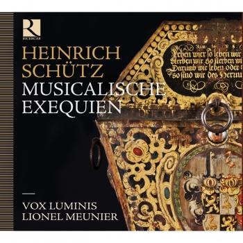 Cover Schütz: Musicalische Exequien