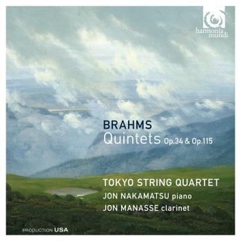 Cover Brahms: Quintets Op.34 & Op.115