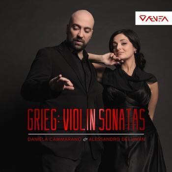 Cover Grieg: The Violin Sonatas, Opp. 18, 13 & 45