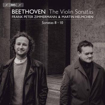 Cover Beethoven: Violin Sonatas Nos. 8 - 10