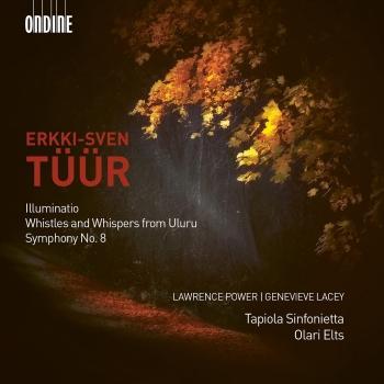 Cover Tüür: Illuminatio, Whistles and Whispers from Uluru & Symphony No. 8