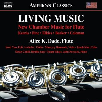 Cover Living Music: New Chamber Music for Flute