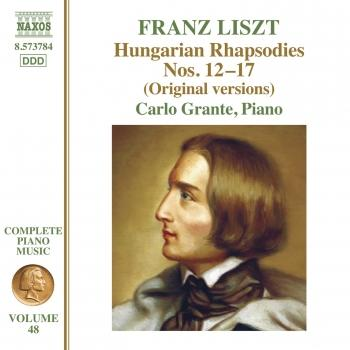 Cover Liszt: Hungarian Rhapsodies, Nos. 12-17 (Original Versions)