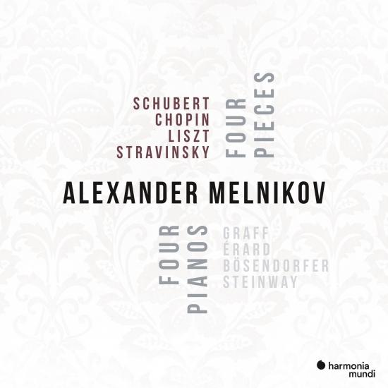 Cover Four pianos, Four Pieces
