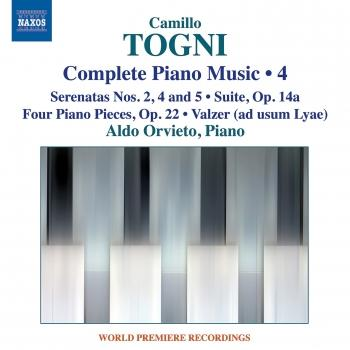 Cover Togni: Complete Piano Music, Vol. 4