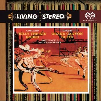 Cover Copland: Billy the Kid & Rodeo / Grofe: Grand Canyon Suite