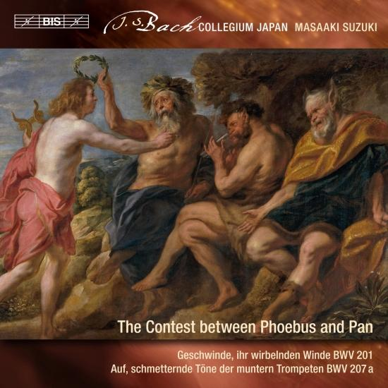 Cover J.S. Bach: Secular Cantatas, Vol. 9 – The Contest Between Phoebus and Pan