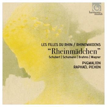 Cover Schubert, Schumann, Brahms & Wagner: Rheinmädchen