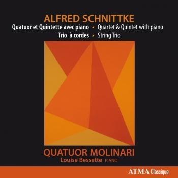 Cover Schnittke: Quatuor et Quintette avec piano - Trio à cordes