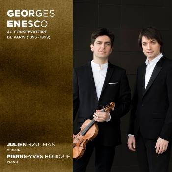Cover Georges Enesco au Conservatoire de Paris (1895-1899)